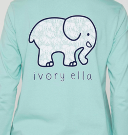 IVORY ELLA Elephant Abstract LS - Aquifer
