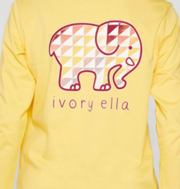 IVORY ELLA Sunset Vibes LS - Buff Yellow