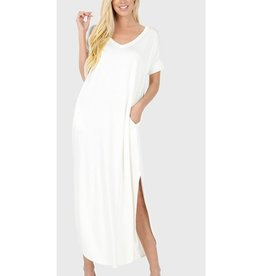 Be A Little Sweetie Maxi Dress- Ivory
