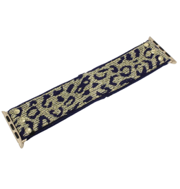 Aaron Gameday Stretchy Apple Watch Band - Leopard