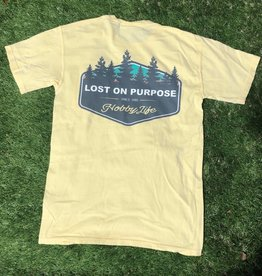 Lost On Purpose Pocket Tee - Yellow