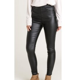 Can't Conform Skinny Leather Leggings - Black