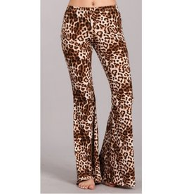 Nine To Five Bell Bottom Pants- Multi