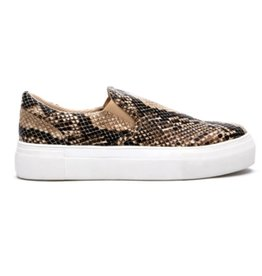 Matisse Gradient Slip On Sneaker - Natural Snake