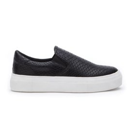 Matisse Gradient Slip On Sneaker - Black Snake