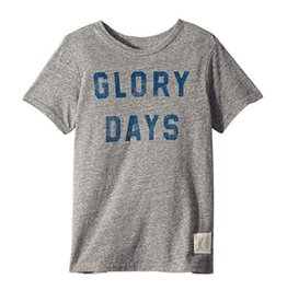 Glory Days Graphic Tee - Heather Grey