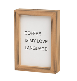 Love Language Letterboard Sign