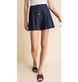 Take The Chance High Waist Shorts - Navy