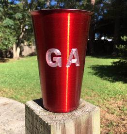 GA Beer Tumbler - Red