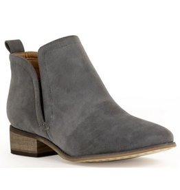 Whatever You Like Booties - Grey