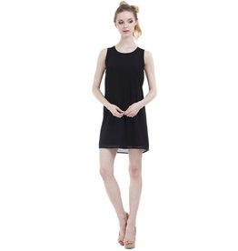 All Up To You Shift Dress - Black