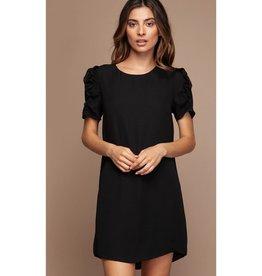 Save Me From Myself Shift Dress - Black