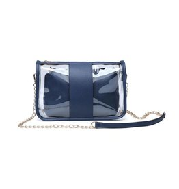 Game Day Clear Bag - Navy