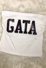 GSU Classic GATA Tube Top - White