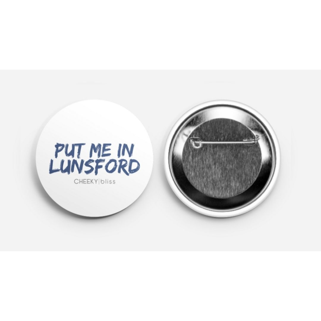 Game Day Button - Put Me In Lunsford