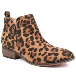 Whatever You Like Booties - Leopard