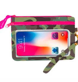 SIMPLY SOUTHERN Phone Wristlet - Camo