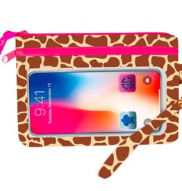 SIMPLY SOUTHERN Phone Wristlet - Giraffe