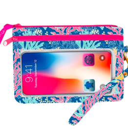 SIMPLY SOUTHERN Phone Wristlet - Reef