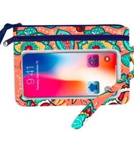 SIMPLY SOUTHERN Phone Wristlet - Happy