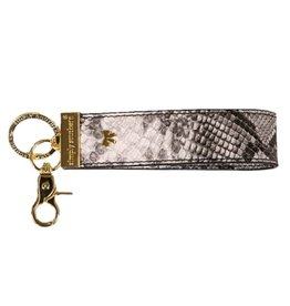 SIMPLY SOUTHERN Leather Key Fob - Aligator Multi