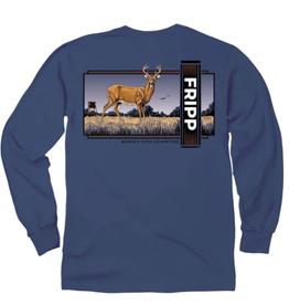 FF-Deer Stance-LONGSLEEVE-Navy