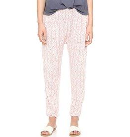 Baja Babe Mouna Lounge Pants - Beige Multi
