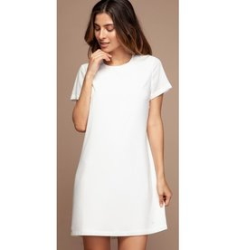 Find The Love Again Shift Dress - Off White