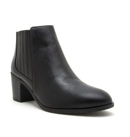 Stand For Something Booties - Black