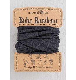 Boho Bandeau - Heathered Charcoal