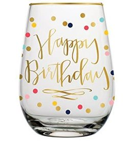 Birthday 30oz. Stemless Wine Glass