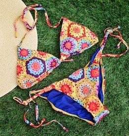 Crochet Fun Triangle- Multi