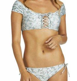 Incognito Island Bra Bikini Top- Camo