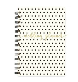 Polka-Dot Wedding Spiral Planner