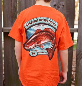 YOUTH- SUS Spot Tail Southern- SS- Orange