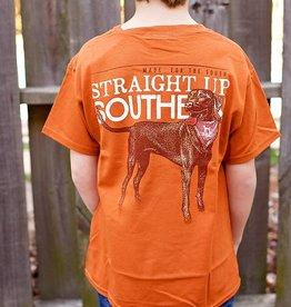 YOUTH- SUS Dog With Bandana- Texas Orange