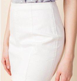 Just Let It Be Mini Skirt - White