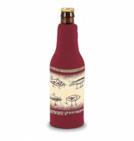 SUS Bottle Koozie- Fishing Lures Banner