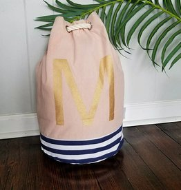 Initial Tote Bag- M