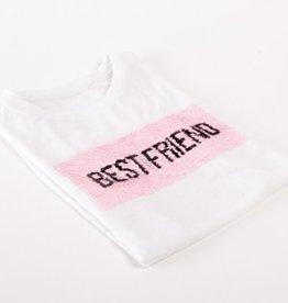Sequin T-Shirt BFF/Bridesmaid