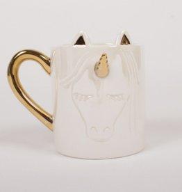Coffee Mug -White Unicorn
