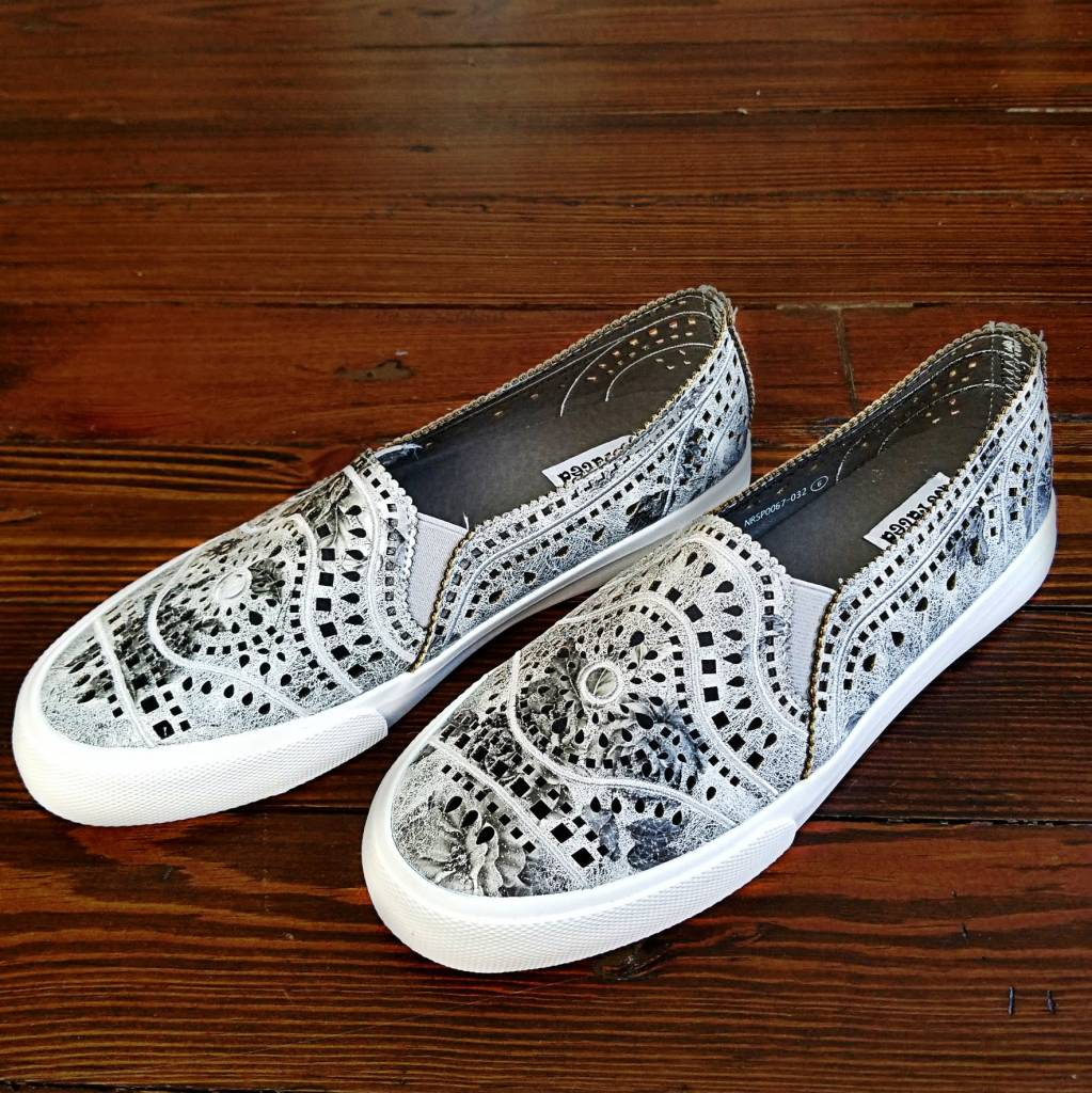 Not Rated NOT RATED Sand City Slip On Sneaker - Grey - Cheeky Bliss da4667709
