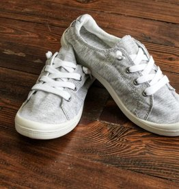 Carry On Sneaker- Light Grey