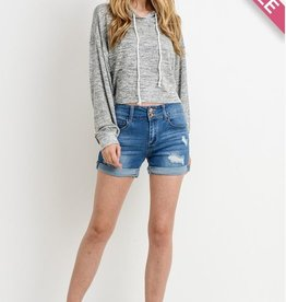 Love Me Completely Shorts- M. Wash