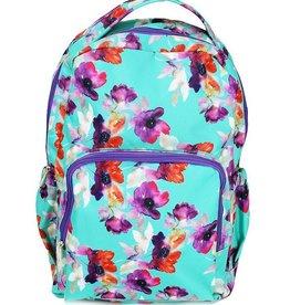 Backpack Floral Teal