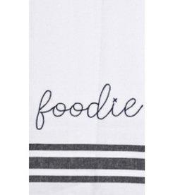 Embroidery Statement Tea Towel- Foodie
