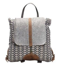MYRA BAG Honey Bee Print Backpack Bag