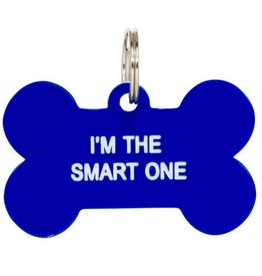 I'm The Smart One Dog Tag