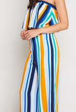 Chic From Head To Toe Pants - Blue