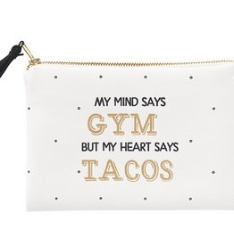 Gym Tacos Cosmetic Bag